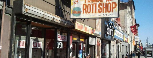 Ali's T & T Roti is one of 200 Black-Owned Restaurants in NYC.