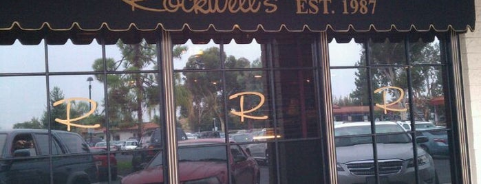 Rockwell's Cafe & Bakery is one of Bars to try.