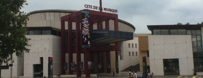 Cité de la Musique is one of Steffich'in Beğendiği Mekanlar.