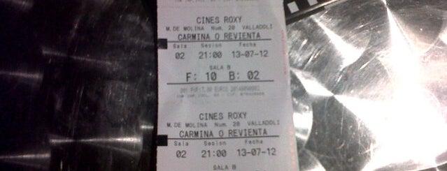 Cines Roxy is one of Tempat yang Disimpan Jesús.