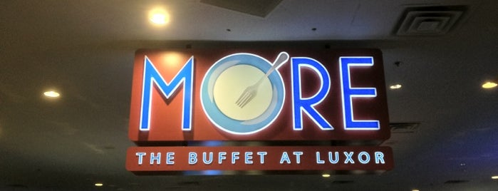 The Buffet at Luxor is one of Specific Nevada.