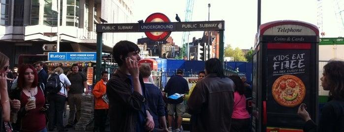 Tottenham Court Road London Underground Station is one of Underground Stations in London.