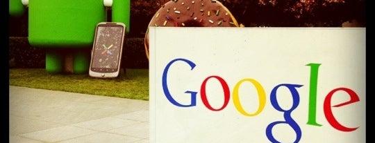 Googleplex is one of Bay Area.