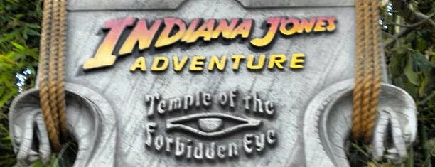 Indiana Jones Adventure is one of Orte, die Melissa gefallen.