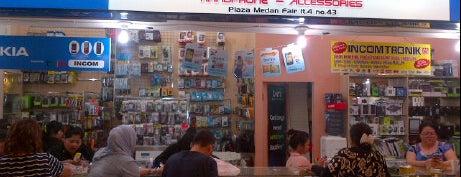 MAKRO Ponsel is one of Top 10 favorites places in Medan, Indonesia.