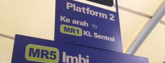 RapidKL Imbi (MR5) Monorail Station is one of Malaysia.