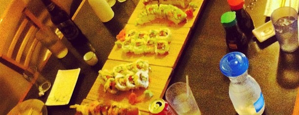 American Sushi House is one of Check it out.