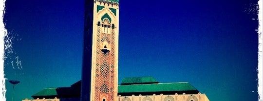 Mosquée Hassan II is one of Morocco.