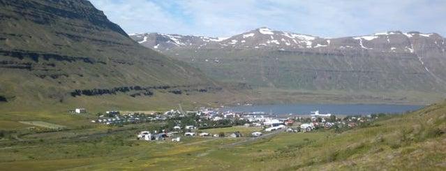 Seyðisfjörður is one of Icelist.