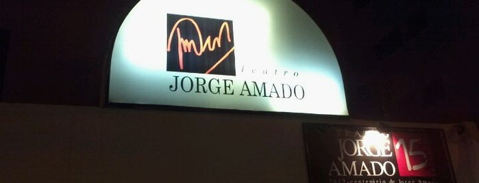 Teatro Jorge Amado is one of VAMOS LA.....
