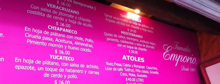 Tamales Emporio is one of Mexico City.