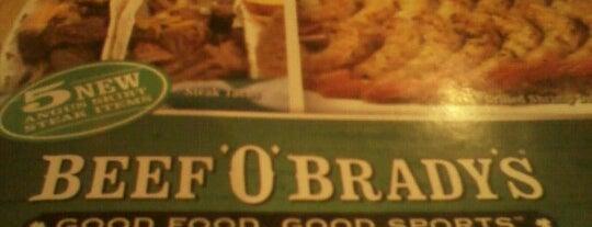 Beef 'O' Brady's is one of Locais salvos de Lizzie.