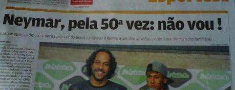 Barraca do Santos FC is one of Tempat yang Disukai Cris.