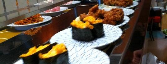 Kulu Kulu Sushi is one of London.