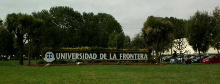 Universidad De La Frontera is one of Lugares favoritos de Mafe.