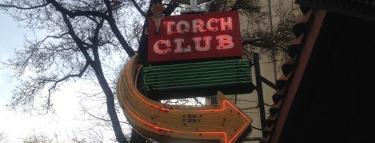 The Torch Club is one of Northern CALIFORNIA: Vintage Signs.
