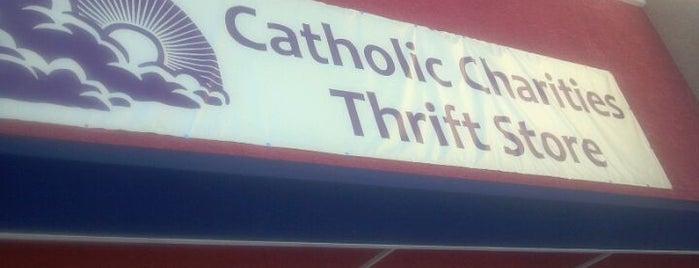 Catholic Charities Thrift Store is one of Gespeicherte Orte von Madeline.