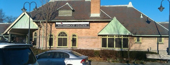 NJT - Netherwood Station (RVL) is one of New Jersey Transit Train Stations.