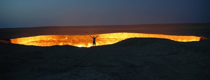 Derweze | Door to Hell | Врата ада is one of Far Far Away.
