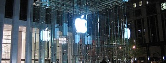Apple Fifth Avenue is one of NYC 2013 Highlights.
