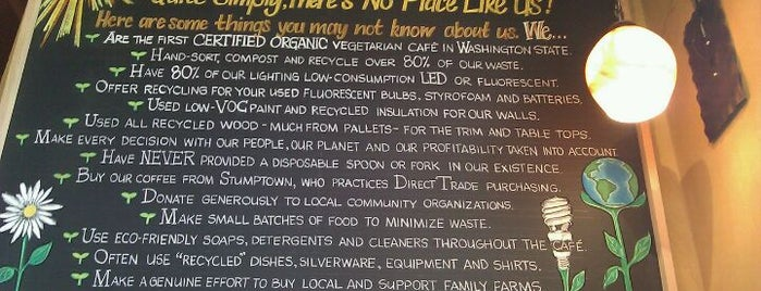 Chaco Canyon Organic Cafe is one of Allergy Friendly Food Places!.