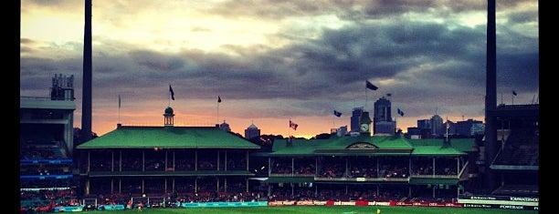 Sydney Cricket Ground is one of Lieux qui ont plu à Marcus.