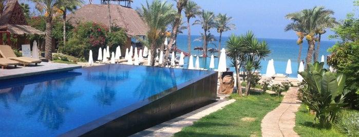 Janna Beach is one of Tempat yang Disimpan Mil e Uma Viagens.