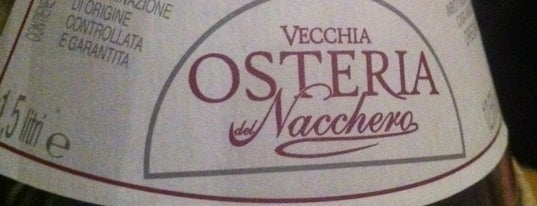 Osteria Del Nacchero is one of Per mangiare.