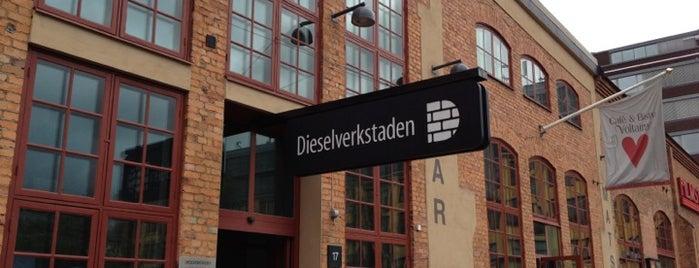Dieselverkstaden is one of Locais salvos de Ruth.