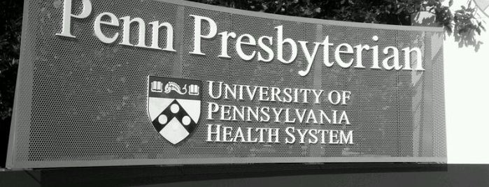 Penn Presbyterian Medical Center is one of Bob'un Beğendiği Mekanlar.