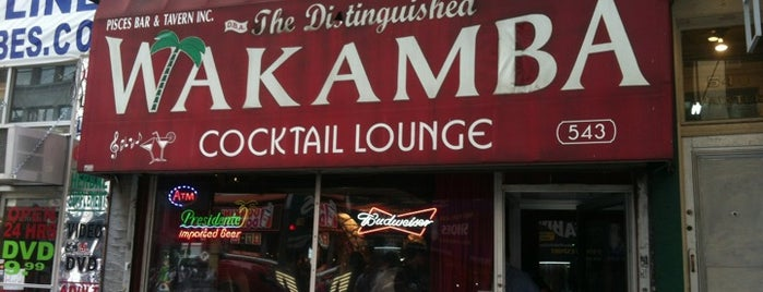 The Distinguished Wakamba Cocktail Lounge is one of Must go Bars, Lounges, and Clubs.