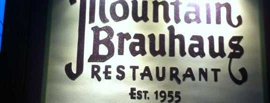 Mountain Brauhaus is one of Upstate.
