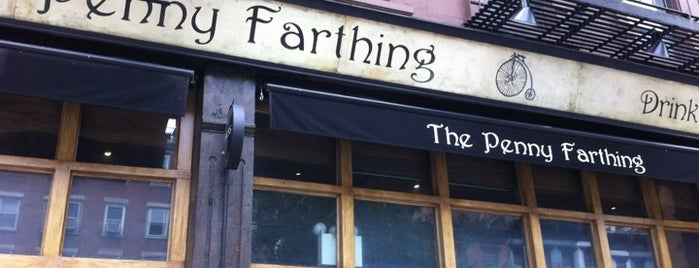 The Penny Farthing is one of NYC.