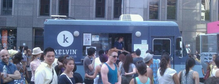 Kelvin Natural Slush Co. Truck is one of Our Favorite Food Trucks!.