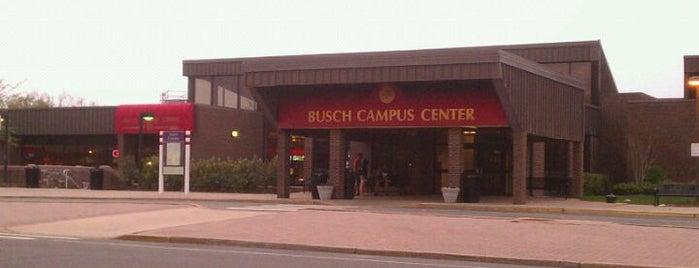 Busch Campus Center is one of Posti che sono piaciuti a Mike.