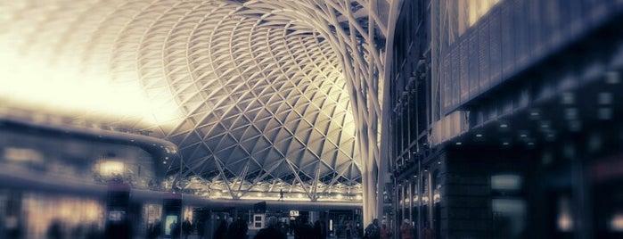 London King's Cross Railway Station (KGX) is one of London Favorites.