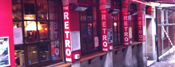 Retro Bar is one of London.