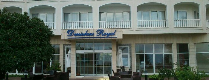 Denizkızı Royal Hotel is one of Kibris.