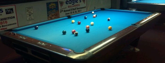 Edgie's Billiards is one of The Bay.