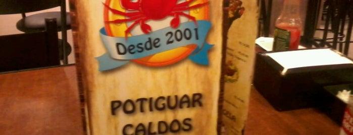 Potiguar Caldos is one of Camilaさんのお気に入りスポット.