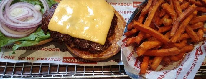 Smashburger is one of Aaron'un Beğendiği Mekanlar.