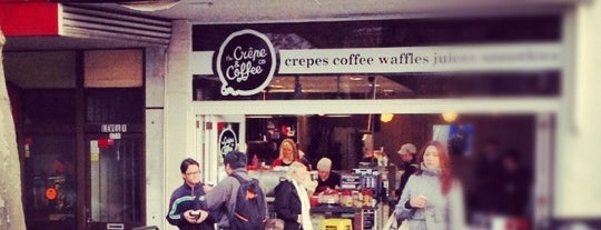 The Crepe & Coffee Co is one of Locais curtidos por Dave.