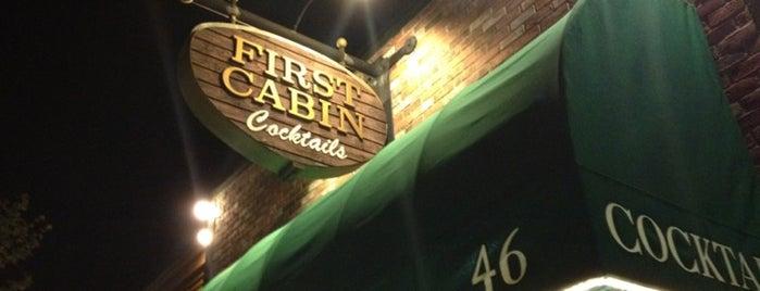 First Cabin Bar is one of Tempat yang Disukai Adrian.