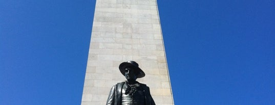 Bunker Hill Monument is one of FAMILY TRAVEL PLANS.
