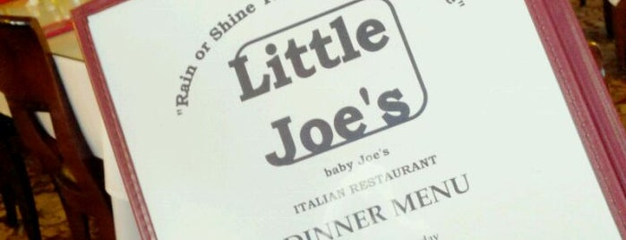 Little Joe's is one of Lugares guardados de Scott Kleinberg.