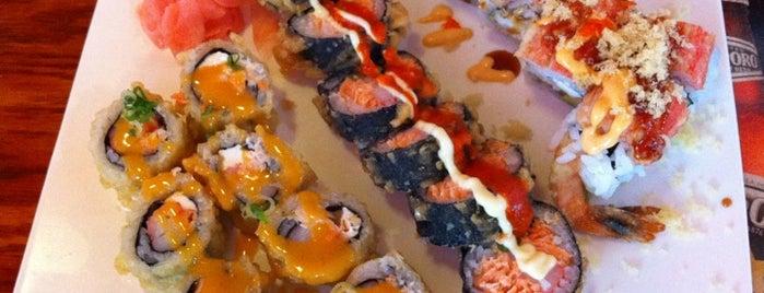 Sushi Cafe is one of Lieux sauvegardés par Matt.