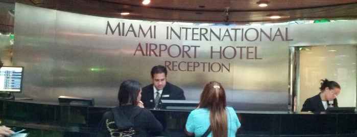 Miami International Airport Hotel is one of Fernando : понравившиеся места.