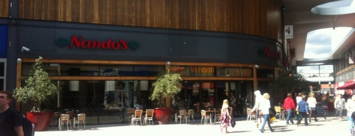 Nando's is one of Orte, die Carl gefallen.