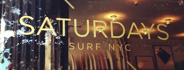 Saturdays Surf NYC is one of NYC shops.