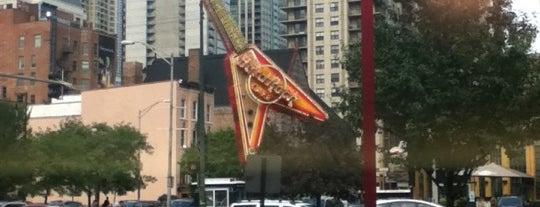 Hard Rock Cafe Chicago is one of Hard Rock Cafes I've Visited.